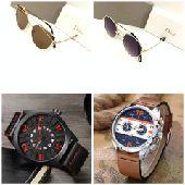 عرض خاااص ساعة ونظارة ماركة واصلية بسعر خاص