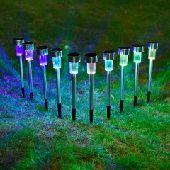 إضاءة ليد مخيم وحدائق بالطاقة الشمسية led