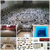 شركة تنظيف سجاد موكت كنب بيت شقة فله رش مبيد