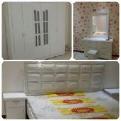 غرف نوم وطني جديد جاهزة التركيب السعر 1800