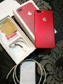 ايفون 7بلس الأحمر بسعه128 قيقا