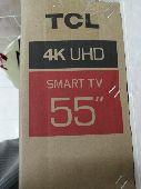 شاشه 55 4k TCL smart