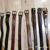 خصم خصم   اي حزام جلد طبيعي ب 30 ريال