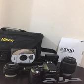 مميزاتكاميرا نيكون D5100   الكاميرامزودة