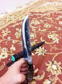 سكين روسي من قرن ماعز اصلي