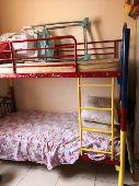 سرير دورين حديد بالمراتب متين جدا حاله ممتازه