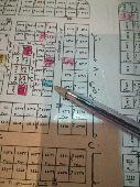 للبيع قطعه ارض بالنرجس الخامس الغربي 312.5