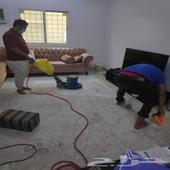 شركة تنظيف خزان منازل شقق فيلا مجالس بيوت