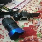 كاميرة نيكون احترافية للبيع على السوم