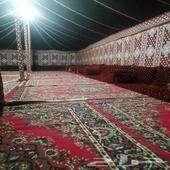 مخيم الوسمي بالخرج يبعد عن جنوب الرياض 70كيلو