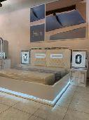 غرف نوم مضيئة بتصاميم مميزة خاصة بالعرائس