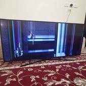 تلفزيون سامسونج 55 بوصه - يحتاج إلى صيانه