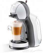 ماكينة قهوة دولتشي 390شامل الشحن ميني مي