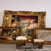 لوح وتحف واثاث مستخدم نظيف