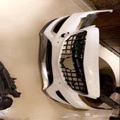 صدام مرسيدس مستخدم سي كلاس C200 cclass AMG راكب عليه شبك GT