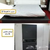 غرفة نوم للبيع نظيفه جدا