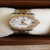 ساعة رولكس تقليد مستعملة استعمال قليل ونظيف