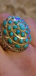 خاتم فيروز تفصيل ايراني من النوادر