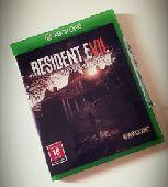 للبيع او بدل لعبة resident evil 7 xbox one