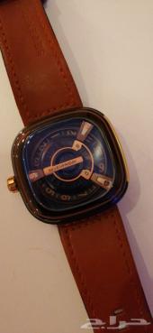 ساعة يد فخمة رجاليه ماركة sevenfriday