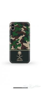 كفرايفون Xجيشي بشعار المملكة العربية السعودية