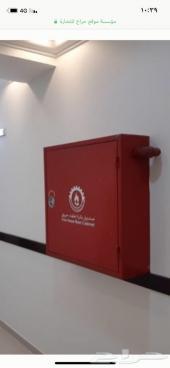 تركيب ادوات سلامه نظام الاطفاء والانذار