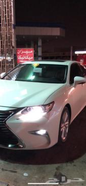 للبيع لكزس ES250 موديل 2013 معدل 2018 سعودي