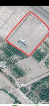 ارض محوشه للبيع طريق تبوك بعد مركز21