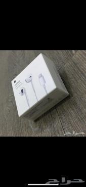 سماعة ابل ايفون 7 و ايفون اكس X الاصلية