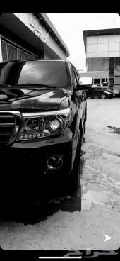 لاند كروزر GXR - 2008 - V6 أسود معدل 2015