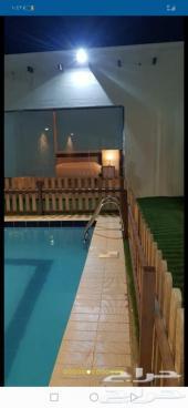 استراحة في الحسينية للإيجار اليومي (سريم)