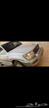 للبيع جيب لاندكروزر شرط البدي والمحركات 2002