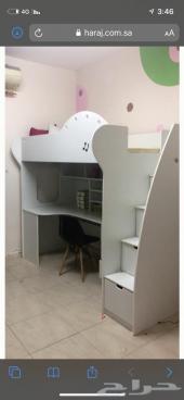 2 سرير دورين ومكتب