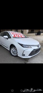 تويوتا كورولا XL مطور 2021 سعودي  (جارالله
