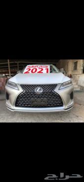 لكزس RX 350 BB سعودي 2021 بنزين ( جارالله)