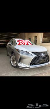 لكزس RX 350 BB سعودي 2021 تيتانيوم( جارالله)