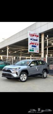 تويوتا راف فور استاندر هايبرد 2021 سعودي فضي