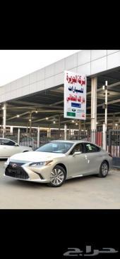 لكزس ES250 AA سعودي 2021 كل لون ( جارالله)