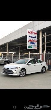 تويوتا افالون XL استاندر 2021 سعودي أبيض