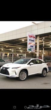 لكزس RX 350 BB سعودي 2021 بنزين بانوراما أبيض