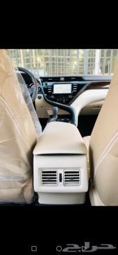 تويوتا كامري GLE بنزين 2020 سعودي فضي(جارالله
