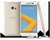 HTC.10  ذهبي نظيف جدا