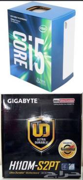 مذربورد Gigabyte H110 S2PT معالج i5 7400