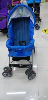 عربة اطفال ((عربة شارع)) جديد بكرتونها