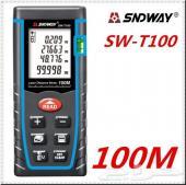 قياس المسافة (( بالليزر 100 متر))