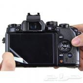 ستيكرات حماية لشاشات الكاميرات الإحترافية نيكون - سوني - كانون - Nikon - Canon - Sony وغيرها