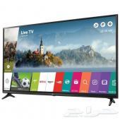 شاشة LG UHD  جديدة 55 بوصة