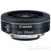 عدسة كانون EF-S 24mm f2.8 STM