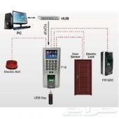 اكسس دور قفل الباب بالبصمة smart lock