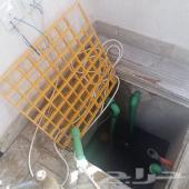 غسيل خزانات ارضى علوي مع التعقيم خزان
